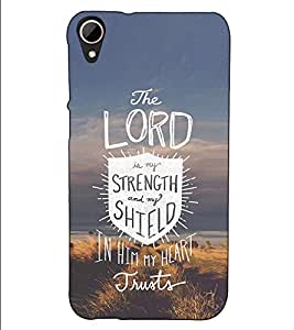 Fuson Designer Back Case Cover for HTC Desire 828 Dual Sim (The Lord is my theme)