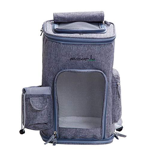 BYN-pet carrier Rucksäcke für Hunde Katzen Transportbox, Reiserucksack, waschbares, abnehmbares und waschbares Kissen, Puppy Kitty Rabbit, for den täglichen Gebrauch oder for Reisen (Color : Pink) -