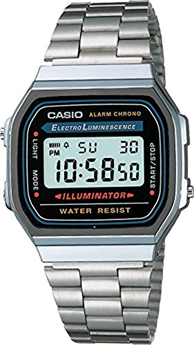 Casio Uhr (Casio Collection Unisex-Armbanduhr A168WA 1YES)