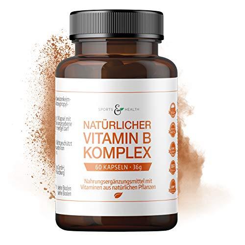 Vitamin B Komplex Natürlich Mit 60 Vegetarischen