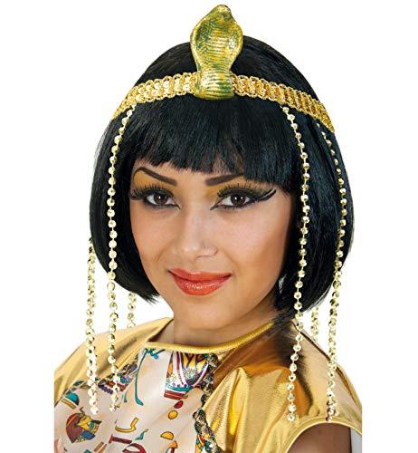 FASCHING 64589 Stirnband Cleopatra Schlange Pailletten NEU/OVP (Pailletten Cleopatra Kostüm)