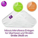 Milovia -Stay-Dry Fleece Einlagen für Stoffwindeln