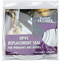 Junta recambio universal de PVC, para ajustar ventanas y puertas, Universal, 6 m