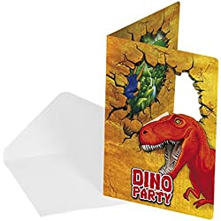 Dinosaurios Cumpleaños invitaciones