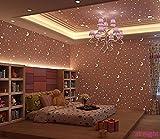 Umweltschutz Vlies Tapete Leuchtende Sterne Mond Für Kinder Dach Schlafzimmer Jungen Und Mädchen Cartoon Wallpaper Rosa Wallpaper