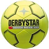 Derbystar Fussball Indoor Beta, Gelb/ Schwarz