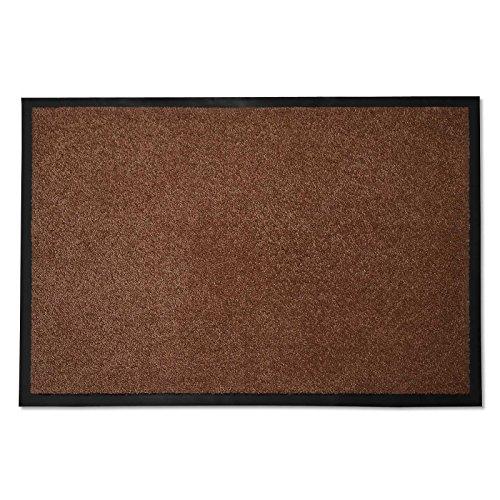 casa pura Premium Fußmatte in Attraktiver Optik | Schmutzfangmatte in 8 Größen | braun | 40x60cm