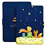 Ayotu Funda Protectora para Kindle Paperwhite E-reader,Premium función de reposo automático Funda para Amazon Kindle Paperwhite Kindle Paperwhite (2012, 2013, 2015 y 2016 verciones con 6 ' Display y luz integrada) K5-09 The Boy and Fox