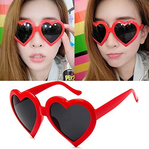 Sonnenbrillen Bunte Herren-und Damensonnenbrillen Mochten Fortgeschrittene Sport-sonnenbrillen 100% Antiultraviolett 5691 Big Red (Taschendieb)