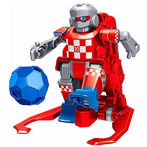 Luccase 2,4 GHz Mini Fernbedienung Roboter Kit Fußball Smart Robot 2er Pack Interaktives Spielzeug Interaktives Puzzle Multiplayer Wettbewerbsspiel für Kinder -