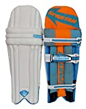 #3: Spartan MS Dhoni (MSD) 7 Orange Batting Pads (Legguards)
