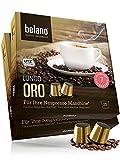 Nespresso kompatible Kapseln Alternative für Kapsel-Maschine - 50x Kaffeekapseln 100% Arabica Kaffee Stärke 7