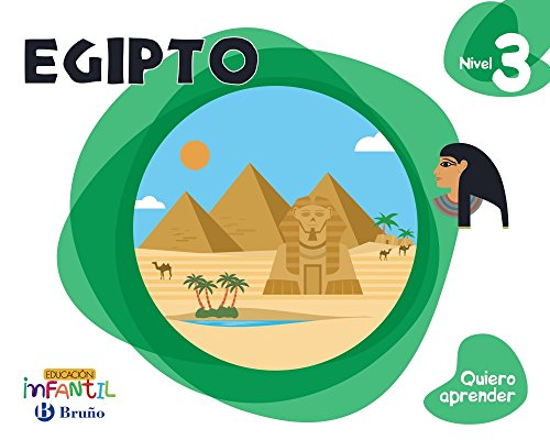 Quiero aprender Nivel 3 Egipto - 9788469613856