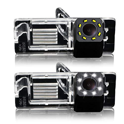 Dynavsal 8LED Vision Nocturne 170° Grand Angle HD Couleur étanche Caméra de recul pour Renault Fluence/Duster Latitude Scenic2/3 Megane 2 Megane 3 /Cabrio/Clio 3/Nissan Terrano/Lutecia/Espace 4