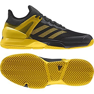 Adidas adizero Ubersonic 2, Sand, Herren, schwarz