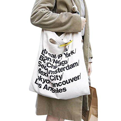 hunpta-new-trend-american-apparel-canvas-shoulder-bag-messenger-shopping-bag-white