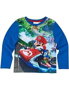 Super Mario Kollektion 2017 Langarmshirt 110 116 122 128 134 140 Shirt Kurz Jungen Neu
