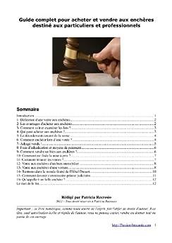 Guide pratique de la vente aux enchères par [Recrosio, Patricia]
