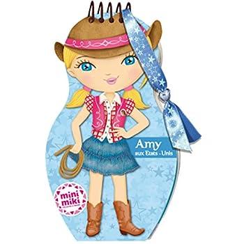 Minimiki - carnet créatif - Amy aux Etats-Unis