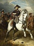 Artland Qualitätsbilder I Poster Kunstdruck Bilder 60 x 80 cm Menschen historische Persönlichkeiten Malerei Bunt A3EG Friedrich der Große zu Pferde 1861