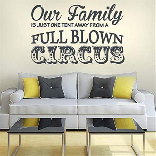 feuerwehrmann sam zelt wandaufkleber fee Unsere Familie ist nur ein Zelt entfernt von einem ausgewachsenen Zirkus
