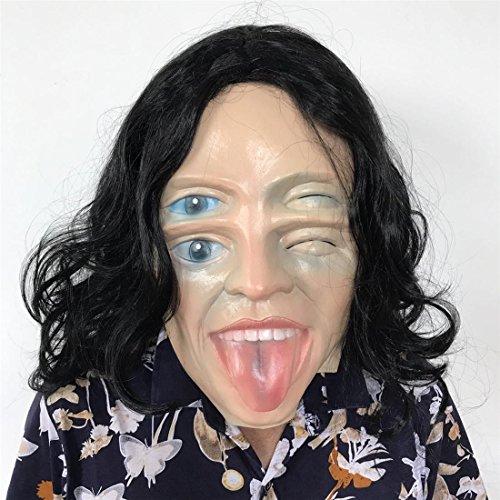 Erwachsene Kostüme Leatherface Scary (JJH-ENTER Maske Prom Partei Heikel Partei Lustig Spielzeug Schönheit Kopfbedeckung Teufel)