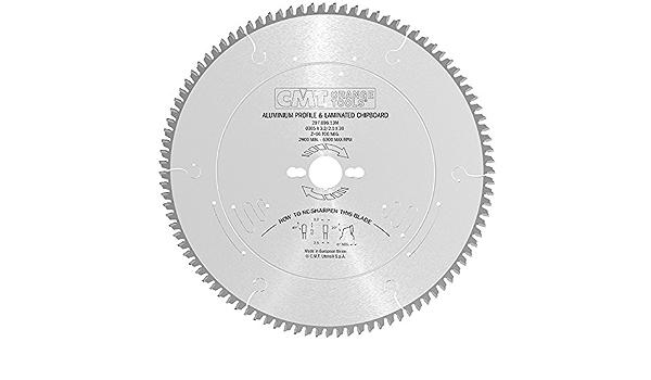 grau CMT 297.080.09/M Kreiss/ägeblatt f/ür tragbare f/ür Materialien nicht eisenhaltigen Reihe Industrie Plastikbinder/ücken und Antrieb
