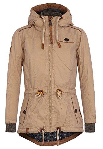 Naketano Female Jacket The Magic Stick Pimmel Sand, XL