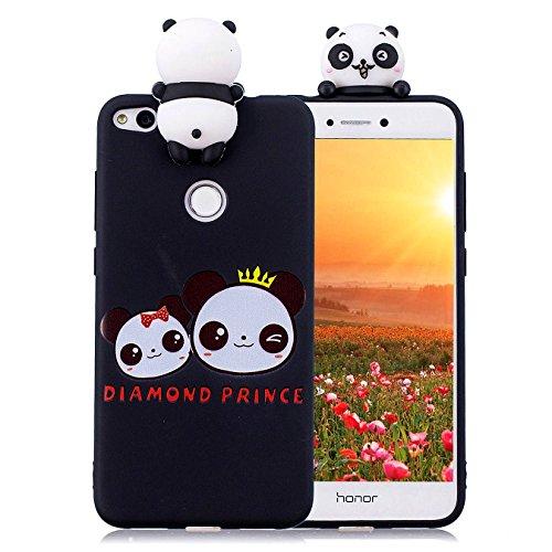 Hancda Etui pour Huawei P8 Lite 2017 [Pas pour P8 Lite 2016/2015], Coque Housse Souple Case Etui Silicone TPU Mince Slim Cover Mignonne Antichoc Protection Coque pour Huawei P8 Lite 2017,04 Design