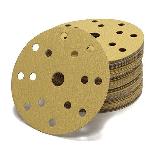 woltersberger-schleifscheiben-150-mm-gold-15-loch-50er-pack-fur-exzenterschleifer-in-kornung-p800-p8