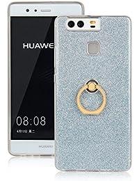 pinlu Funda Para Huawei P9 (5.2pulgada) Anti-Arañazos Función Flash Brillante Suave TPU Silicona Case Ultra Delgada...