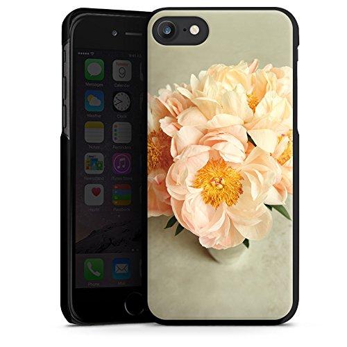 Apple iPhone X Silikon Hülle Case Schutzhülle Blumen Gelb Blüte Hard Case schwarz