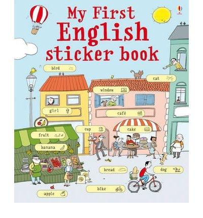 My first english sticker book. Con adesivi. Ediz. illustrata (Le prime mille parole) por Sue Meredith