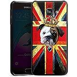 Samsung Galaxy A3 (2016) Housse Étui Protection Coque Bouledogue anglais Couronne Chien