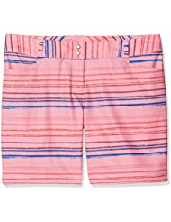 'Adidas 7Printed Painted Stripe Short de golf, femme