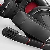 Sennheiser GSP 350 - Microauricular Cerrado para Gaming, Color Negro y Rojo