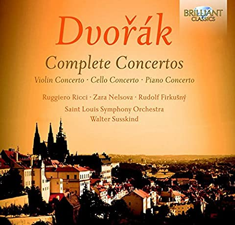 Dvorak: Complete Concertos-Violin/Cello/Piano