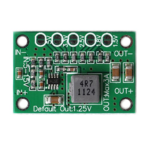 Celan DC Buck Step Down Power Converter Board 5-16 V auf 1,25 V 1,5 V 1,8 V 2,5 V 3,3 V 5 V 3 A - 1,5 V Dc Lithium-batterien