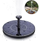 Rameng- Solarbrunnen, Wasserpumpe, solarbetrieben, für den Außenbereich, schwimmende Pumpe, automatischer Start für Pool