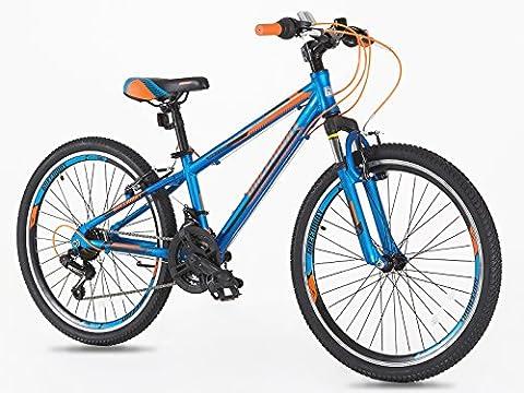Junior/ Boys 24 inch Alloy Mountain Bike with Shimano Gears-