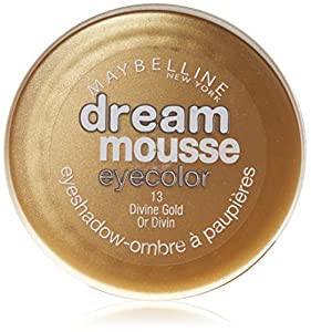 Maybelline 13 Divine Gold Dream Mousse Eye Color Eyeshadow Pots 3.5g