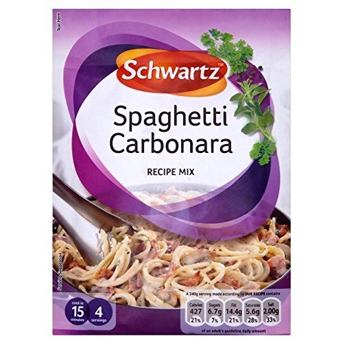 Schwartz Spaghetti Carbonara Recipe Mix (32g)