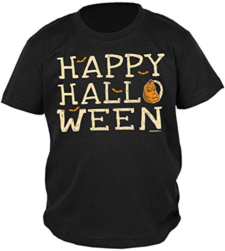 t/Sprüche-Shirt/Fun-Shirt: Happy Halloween - witziges Jungen-Shirt/Kinder-Shirt ()