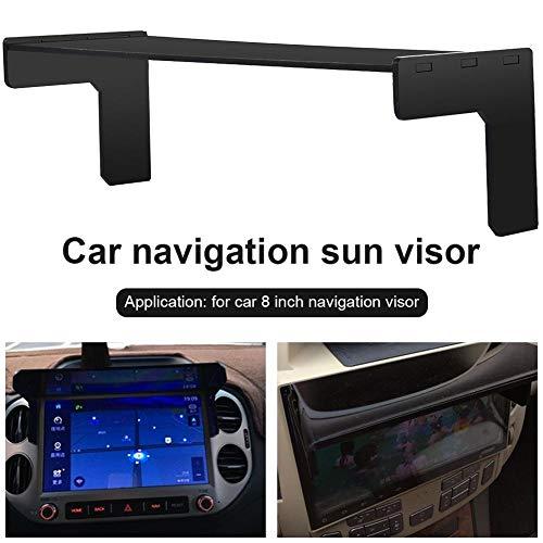 Wetour Auto GPS Sonenschutz Sunshade Sonnenblende, Auto Blendschutz Navigationsgerät Für 8in Navigationszubehör Automatische DVD/GPS (Sonnenblende Dvd-bildschirme)
