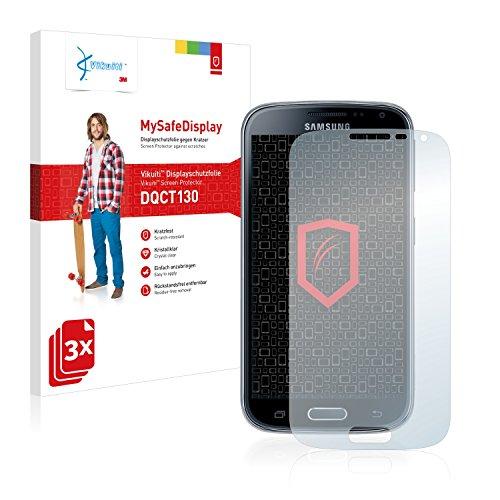 3x Vikuiti MySafeDisplay Displayschutzfolie DQCT130 von 3M passend für Samsung Galaxy K Zoom SM-C115