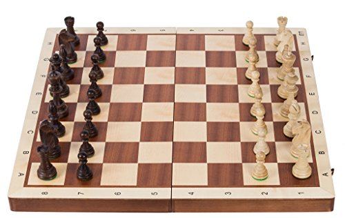 Pro-Schach-Nr-6-MAHAGONI-BL-Schachspiel-aus-Holz-Schachbrett-Staunton-6