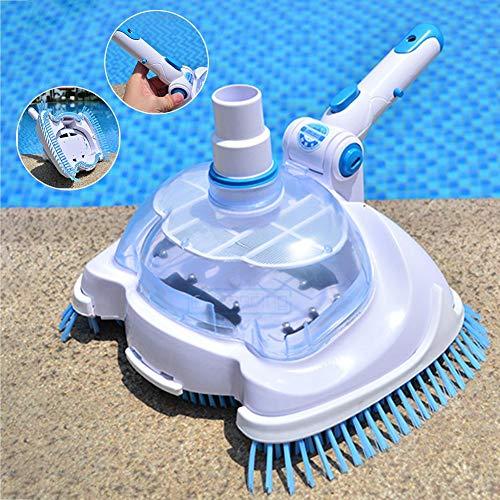 Pool Vakuum Sauger, Transparente Pool Reinigungsbürste Poolreinigung Bodensauger Swimmingpool Reinigungs Und Wartungswerkzeuge, 27cm X 20cm