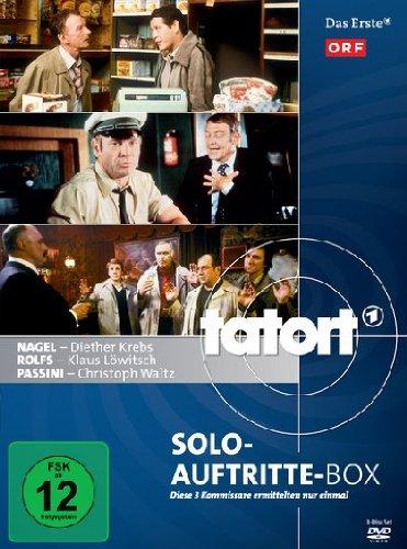 Tatort - Solo-Auftritte-Box (3 DVDs)