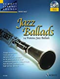 Jazz Ballads: 14 Famous Jazz Ballads, Clarinet (Book & CD) by Rudolf Mauz (Editor) (1-Jan-2013) Sheet music