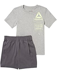Reebok Conjunto B essentials-gris-116